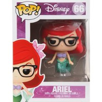 Disney Funko Pop! The Little Mermaid EXCLUSIVE Nerd Ariel Vinyl Figure RARE ~ Series 66