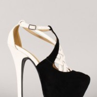 Liliana Avel-1 Glitter Pointy Toe Pump