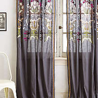 Safia Embroidered Curtain