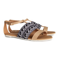 H&M - Sandals - Light brown - Ladies