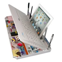 Bluetooth Multimedia Keyboard 6 products in ONE! (White)