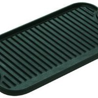 Lodge Logic LPGI3 Pro 20-by-10-7/16-Inch Cast-Iron Grill/Griddle