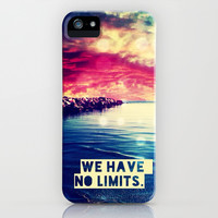 We have no limits - for iphone iPhone & iPod Case by Simone Morana Cyla
