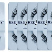 Red Cherry #523 False Eyelashes (Pack of 6 Pairs)