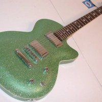 Daisy Rock Rock Candy Classic Electric Guitar, Atomic Green