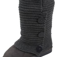 Amby Women's Rib Knit Sweater Boot