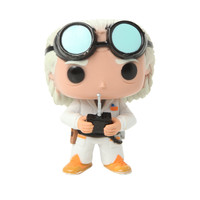 Back To The Future Pop! Movies Dr. Emmett Brown Vinyl Figure