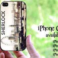 Sherlock london design hard case for iPhone 4 case, iPhone 4s case, iPhone 5 case, iPhone 5s case, iPhone 5C case