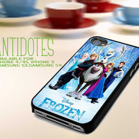 Disney Frozen, Olaf the Snowman for iphone 4/4s case, iphone 5 case, samsung galaxy S3 case, samsung galaxy S4 case