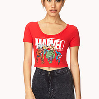 Marvel Superheroes Crop Top
