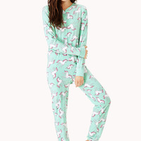 Unicorn Dreams PJ Onesuit