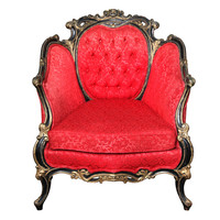 Lavish Royal Baroque Chair