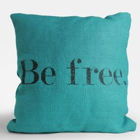 Be Free Jute Pillow