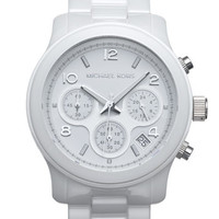 Michael Kors 'Runway Ceramic' Watch | Nordstrom