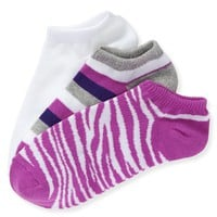 3-PACK ZEBRA, AERO & STRIPE PED SOCKS