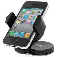 iOttie Windshield Dashboard Car Mount Holder for iPhone 4S 4 3GS Samsung Galaxy S2 Epic Touch 4G HTC EVO 4G Rhyme DROID RAZR BIONIC INCREDIBLE 2 CHARGE Google BlackBerry Torch LG Revolution GPS Compact Size 360 degree Rotatable