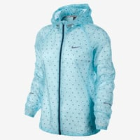 Nike Vapor Cyclone Packable Women's Running Jacket - Glacier Ice