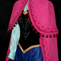 Anna Costume (With or Without Cape)