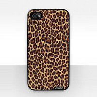 Leopard Skin iPhone Hard Case Design / Fits  iPhone 4 / 4S by CRAFIC
