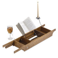 Teak Cross Tub Caddy - Bed Bath & Beyond