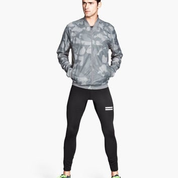 H&M - Running Tights - Black - Men