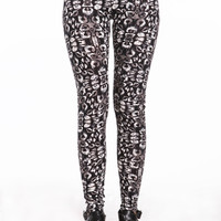 TRIBAL SPOTS LEGGINGS