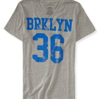 Brklyn 36 V-Neck Graphic T