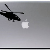 Helicopter Vinyl Decal Sticker Art Graphic Sticker Laptop Car Window
