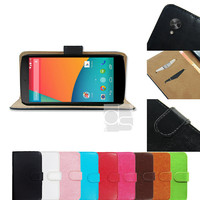 Lg Google Nexus 5 Wallet Case Lg Nexus 4 Case Lg Nexus 5 Case Lg Google Nexus 4 Leather Case Cover Pouch LG Google Nexus 5 Case E960 E980 FP