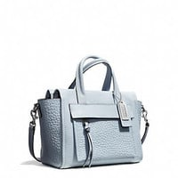 BLEECKER MINI RILEY CARRYALL IN LEATHER