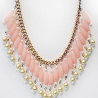 Pink & Pearl Necklace : Cute Aprons - Cute Holiday Dresses - Cute Maxi Skirts - Cute Christmas Gifts - Daisy Shoppe