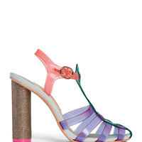 Sophia Webster Rosa Jelly Sandals - High Heel Sandals - ShopBAZAAR
