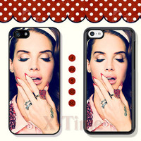 Lana Del Rey, iPhone 5 case iPhone 5c case iPhone 5s case iPhone 4 case iPhone 4s case, Samsung Galaxy S3 \S4 Case, Phone case --X51000