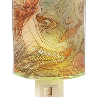 Shining Sea Siren Night Light - PLASTICLAND