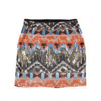 LET IT SHINE SEQUIN SKIRT