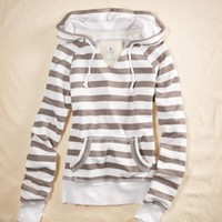 Aerie Nautical Popover Hoodie - aerie