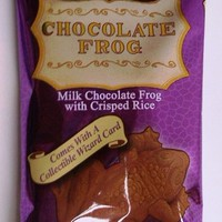 Harry Potter Milk Chocolate Frog with Collectible Wizard Trading Card