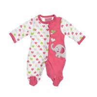 Elephant Sleeper Preemie 371947244 | Sleepwear | Baby Girl Clothes | Clothing | Burlington Coat Factory