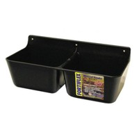 Fortiflex MF-2 Mineral Feeder, 2x1.75 qt. Capacity, Black - Tractor Supply Co.