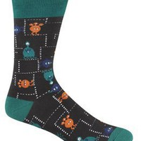 Sock It To Me MONSTERS II Mens Crew Socks
