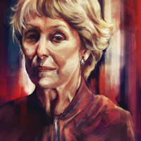Mrs. Hudson Art Print by Alice X. Zhang