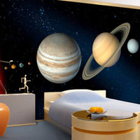 Planets wall murals | Dezign With a Z