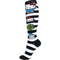 Knee High Socks - Sanrio - Hello Kitty Cat City