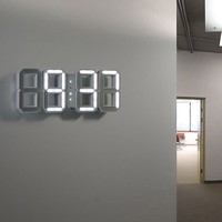 LED Wall Clock - White -8%