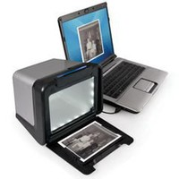 The Desktop Photograph To Digital Picture Converter - Hammacher Schlemmer