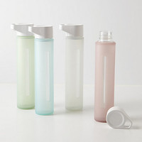 Glass Water  Bottle by Anthropologie Natural One Size House & Home