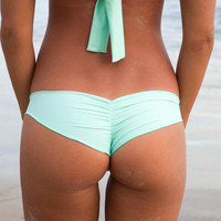 The Girl and The Water - Posh Pua 2014 - Niu Bikini Bottom Mint - $62