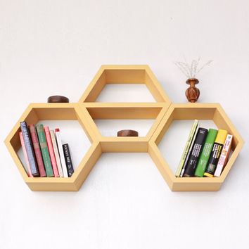Nesting Hexagon Shelves