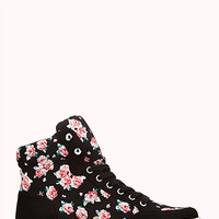 Pretty-Tough Floral High-Tops
