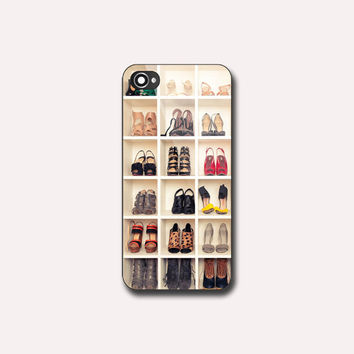 Shelf Shoes EA0128 - Print on hard plastic - iPhone 4/4s - iPhone 5/5s - iPhone 5c